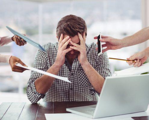 Ansiedad al trabajo superala